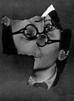 Jean Arp – Temps troué. papiers déchirés , 1951