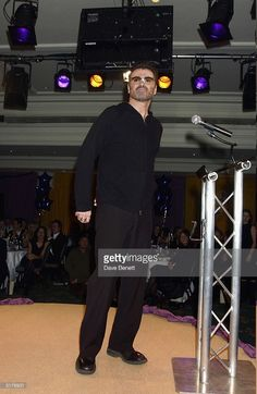 George Michael attends the UK music industry's annual 'Women of the Year Awards' in aid of Nordoff Robbins Music Therapy and The Brit Trust at the Intercontinental Hotel on December 4, 2003 in London.