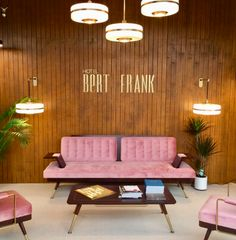 Top Interior Design Trends from The London Design Festival 2017   We've put together our top 5 home decor trends for 2018, including old-fashioned glamour as this gorgeous blush pink velvet sofa shows! #artdeco #velvet #homedecor #interiordesign #interior