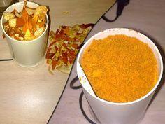 Ahorrar en tiempos de crisis: Piel de naranja seca en el molinillo Chana Masala, Pudding, Fruit, Ethnic Recipes, Desserts, Food, Tea, Homemade Spices, Deserts