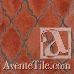 Arabesque Mudejar Spanish Paver Handmade Cement Tile