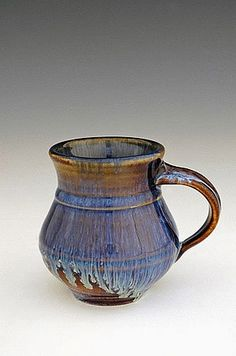 Handmade pottery gordo mug