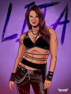 Wrestling Superstars, Women's Wrestling, Edge And Lita, Chris Benoit, Eddie Guerrero, Kenny Omega, Fanart, Wwe Female Wrestlers, Wwe World