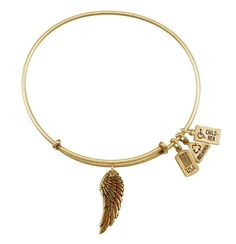 Wind and Fire Owl 3D Charm Silver Wire Bangle Stackable Expandable Bracelet Gift