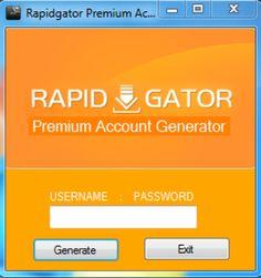 Rapidgator Premium Account Generator Hack No Survey