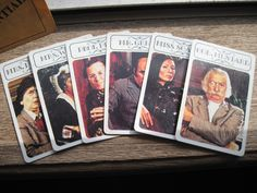 Clue Game cards 1979 by ChaosSupplies on Etsy  For Shotz and Ladders