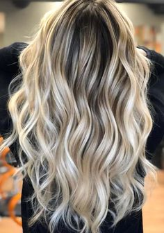 43 Gorgeous Root Blonde with Balayage Highlights for 2018. Searching for best styles of hair colors to make you look more elegant and sexy in 2018? If yes then see here our best collection of root blonde hair colors with beautiful balayage highlights to sport with long and medium haircuts. Its a best time for you to get modern hair look by wearing these trendy hair colors.