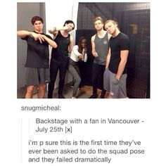 calum and michael were somewhat close-ish, not really