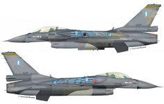"F-16C Block52 #537 (s/n 01-8533, c/n XK-38) from 340 Mira ""Fox"", Hellenic Air Force - HAF. Aerobatic team ""Zeus"". AB Souda. October 2011."