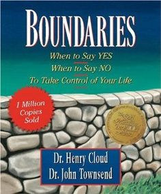 """One of the books I'm reading as part of my therapy is """"Boundaries"""" by Dr. Henry Cloud and Dr. Itbasically teaches you about setting and maintaining healthy boundaries with yourself a. Boundaries Henry Cloud, Boundaries Book, Setting Boundaries, Personal Boundaries, Up Book, This Is A Book, Book Nerd, Essie, Art Therapy Activities"""