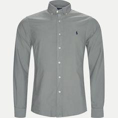 710684871 Skjorter GRÅ fra Polo Ralph Lauren 900 DKK Chef Jackets, Polo Ralph Lauren, Button Down Shirt, Men Casual, Shirt Dress, Mens Tops, Shirts, Dresses, Fashion