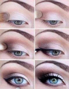 Brown Smoky Eye Makeup Tutorial - #makeup #cosmetics #beauty #smoky #eyes #eyeshadow #howto #tutorial www.pampadour.com