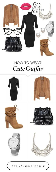 """""""one min outfit"""" by krka on Polyvore featuring Undress, See by Chloé, Dorothy Perkins, ALDO, Lime Crime, STELLA McCARTNEY, jobinterview and 60secondstyle"""