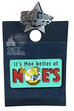 Simpsons Its Better at Moes Tavern Trading Pin Universal Studios Springfield
