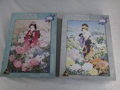 Two 500 Piece 'Kimonos' Puzzles