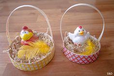 Panier de Pâques avec boîte à camenbert                                                                                                                                                                                 Plus