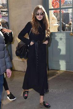 Gigi Hadid - Walks around city