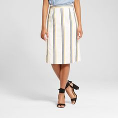 Women's Pleat Back Pencil Skirt - Who What Wear