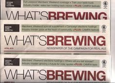 David in 'What's Brewing', official newspaper of the Campaign for Real Ale | JC Social Media - social media agency