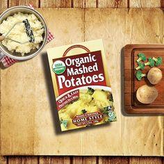 بطاطا مهروسة عضوية متوفرة في#ممر في #سيفكو Organic Mashed Potatoes #Aisle10 In #Saveco #Saveco_Organics #منتجات_سيفكو_العضوية