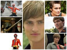 Jayden-(Red Samurai Ranger) Power Rangers Samurai, Power Rangers Ninja Steel, Power Rangers Movie, Go Go Power Rangers, Power Ragers, Danger Mouse, Boys Who, Martial, Persona
