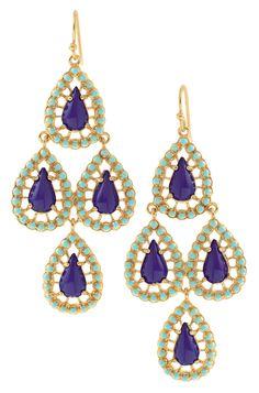 The seychelles chandelier earrings#prom