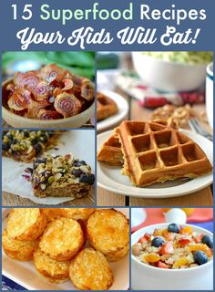 Superfood recipe mistakes every Mom needs to avoid! Even the pickiest eaters will find a new healthy recipe to love in this list of Kid-Friendly Superfood Recipes! Healthy Meals For Kids, Kids Meals, Healthy Snacks, Healthy Recipes, Kid Snacks, Simple Recipes, Light Recipes, Eat Healthy, Healthy Drinks