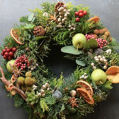 [Christmas Wreaths] Buy Your Christmas Wreaths Online Fast And Easy ** Continue with the details at the image link. Christmas Door Wreaths, Christmas Flowers, Autumn Wreaths, Noel Christmas, Holiday Wreaths, Christmas Crafts, Natural Christmas, Fresh Wreath, Paper Flower Garlands