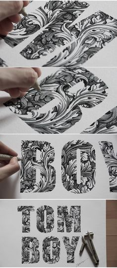 By Spider Money Typography Handlettering Calligraphy 2 Cool Typography, Typography Letters, Graphic Design Typography, Lettering Design, Hand Lettering, Hand Drawn Typography, Flower Typography, Typography Drawing, Design Art