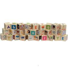 Letter Picture Blocks