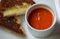 There's always been a special place in my heart for grilled cheese and tomato soup. http://kompromisedkitchen.com/2014/12/spicy-bell-pepper-tomato-soup/