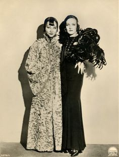 Shanghai Express  Ana May Wong and Marlene Detritch  http://www.shebloggedbynight.com/2010_06_01_archive.html