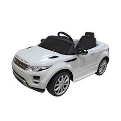 Aosom 12V Land Rover Evoque Kids Electric Ride On Car with MP3 and Remote Control  White ** Visit the image link more details. Note:It is affiliate link to Amazon. #LetYourBabytoPlay