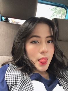Short Wavy Hair, Short Hair Styles, Indonesian Women, Pretty And Cute, Aesthetic Girl, Short Hairstyles For Women, Girl Pictures, Role Models, Asian Girl