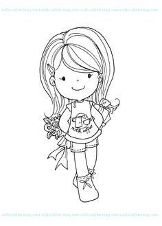 free  girl digi stamps | ... inspirations to create girls! And now, heres the special freebies