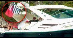 Ιδού ο Eυάγγελος Βενιζέλος ηλίθιε 'Ελληνα, σε χαιρετά μέσα από σκάφος με σημαία από… offshore !!! | Simantro.gr Greece, Places To Visit, Fair Grounds, Boat, Fun, Travel, News, Greece Country, Dinghy