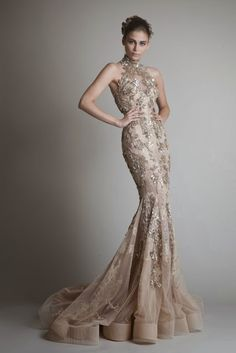 AMORE (Beauty + Fashion) WEDDING BELL WEDNESDAY ❣ - Krikor Jabotian FW 2013 Collection