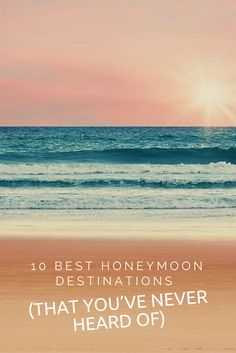 Looking for a honeymoon more unique than a week on the beach? Search no more. These blissful destinations are anything but ordinary. Popular Honeymoon Destinations, Honeymoon On A Budget, Honeymoon Fund, Honeymoon Packages, Romantic Honeymoon, Romantic Getaways, Honeymoon Ideas, Wonderful Places, Places To Go