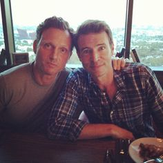 Tony Goldwyn and Scott Foley