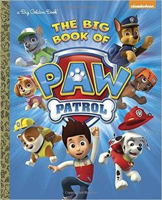 """Read """"The Big Book of PAW Patrol (PAW Patrol)"""" by Nickelodeon Publishing available from Rakuten Kobo. Everything you need to know about the awesome and adorable rescue pups of Nickelodeon's PAW Patrol is featured in this s. Paw Patrol Books, Old Boy Names, Margaret Wise Brown, 10 Year Old Boy, Nickelodeon, Paw Patrol Party, Little Golden Books, Thomas And Friends, Little Puppies"""