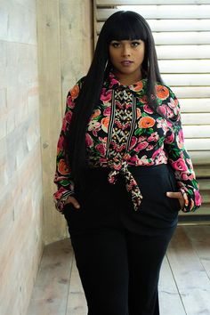 First Look: Zelie For She U.N.I.T.Y Fall Collection thecurvyfashionis...  Looking for the newest from Los Angeles plus size designer, Zelie for She? Take a peek at her latest Collection, UNITY! thecurvyfashionista.com/
