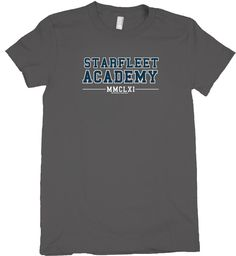 Forget all of the academic institutions I've attended. Starfleet Academy is where it's at! ;)