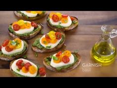 Serve up some inspiration with this Fresh Mozzarella Grilled Crostini recipe from Galbani Cheese. Our authentic Italian cheeses will bring the joy of sharing a savory meal with those you love – it's one of life's greatest pleasures. Grilling Recipes, Cooking Recipes, Appetizer Recipes, Appetizers, Cupcakes, Party Finger Foods, Fresh Mozzarella, Other Recipes, Italian Recipes