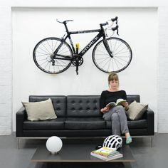 Image result for bicycle baguette holder Bike Storage Systems, Bicycle Storage, Bike Holder, Bike Rack, Range Velo, Bike Shelf, Bicycle Tools, Road Bike Women