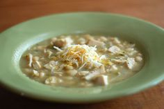 spicy white chicken chili made easy in a crock pot!