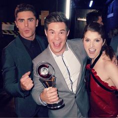 Comedy team of the year! We're never gonna die! #cinemacon - by annakendrick47 (Anna Kendrick)