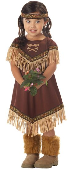 Little Indian Princess Costume - Native American Indian Costumes