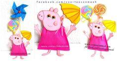 Un bonito dulcero para fiestas de Peppa Pig