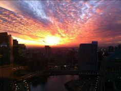 Beautiful Sunset in The Chi - Chicago,IL