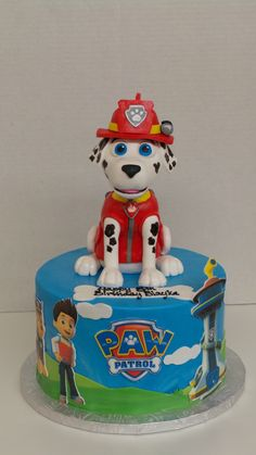Paw Patrol all edible by Sweet Confections Cakes